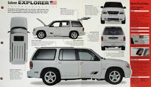 Ford Explorer Interior Dimensions - 1998 xp6 98 0060xp offered on ebay saleen owners and