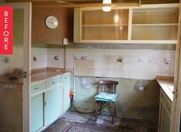 1950 kitchen furniture before after 1950 s kitchen renovation gets a modern update