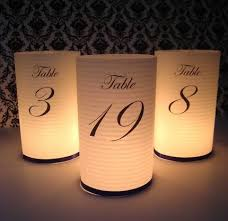 wedding table number ideas table numbers in a vase table numbers cylinders 150x150 cool