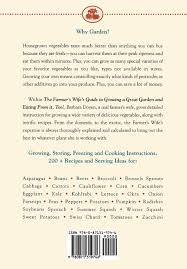 the farmer u0027s wife guide to growing a great garden and eating from