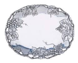 metal platters platters arthur court designs