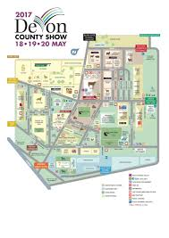 England County Map by Showground Map Devon County Show