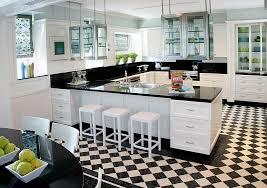 black and white kitchen floor images black white kitchen re emerging design trend dramatic kitchen