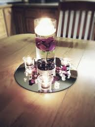 Purple Flower Centerpieces by Best 25 Floating Flower Centerpieces Ideas On Pinterest