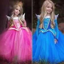 Sleeping Beauty Halloween Costume Kids Sleeping Beauty Princess Aurora Fancy Dress Xmas