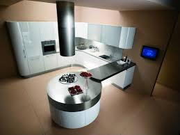 ilot cuisine rond cuisine ronde 7 photo de cuisine moderne design contemporaine luxe