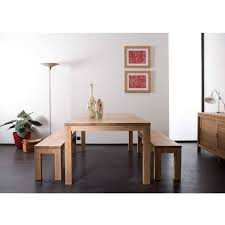 Oak Dining Furniture Ethnicraft Straight Oak Dining Table Solid Wood Furniture