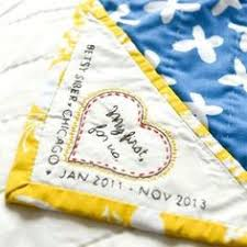 Wedding Quilt Sayings How To Label A Quilt Tutorial With Pictures By Www Myrosevalley