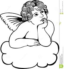 cloud cherub royalty free stock photo image 30431285