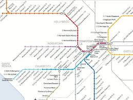 the metro map see how the metro map will look in a decade los angeles magazine
