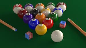 3d Billiard Table Scene Cgtrader