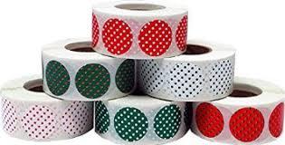 bulk christmas wrapping paper buy gift wrapping decoration polka dot stickers christmas bulk