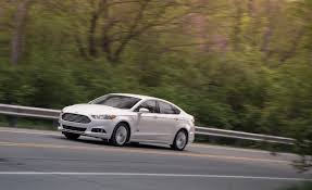 2012 ford fusion review car and driver 2013 ford fusion energi in hybrid test review car and driver