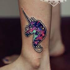majestic unicorn tattoo these beautiful beasts rest just beyond