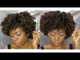 flexi rod stretch long 4b c hair flexi rod set on 4c natural hair kinky hair youtube