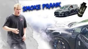 jake paul car smashing jake paul s new car prank watch free hd videos online