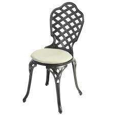 Outdoor Bistro Chair Pads Impressive Garden Bistro Chair Cushions Round Garden Chair Cushion