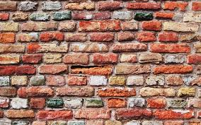colorful brick wall wallpaper 9588