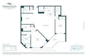 Willis Tower Floor Plan by Marina Palms South Tower Lux Life Miami Blog