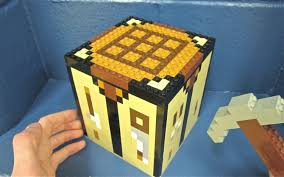 perfect lego crafting table and lego crafting table minecraft