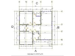 simple to build house plans layout of a house plan foundation house plans