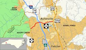 Map Of Asheville Nc North Carolina Highway 146 Wikipedia