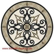 vines 24 mosaic medallion medallionsplus com floor