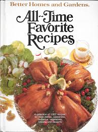 better homes and gardens all time favorite recipes 1979