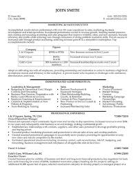 Resume Format For Job Download by Click Here To Download This Marketing And Sales Executive Resume