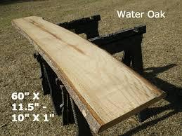 Slab Wood Bar Top Live Edge Bar Top Finished Water Oak Wood Slab Behind The