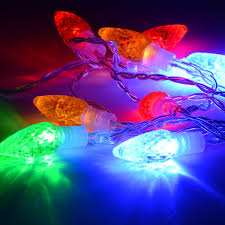 led net lights multi color 10 jewel cone multi coloured led lights availbale at this is it