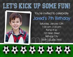 soccer birthday invitations u2013 gangcraft net