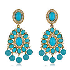 turquoise earrings kenneth turquoise earrings hauteheadquarters