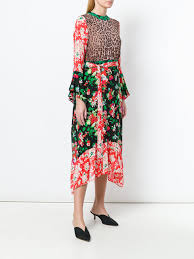 the kooples siege social rixo chrissy dress mixed floral editori contemporary
