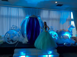 cinderella theme for quinceanera cinderella quince stage infinity sound production