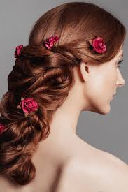 professional makeup classes online amazingly beautiful braid with incorporated flowers created