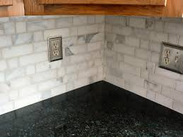 Marble Backsplash Kitchen Marble Backsplashes Comfortable 20 Carrara Marble Backsplash