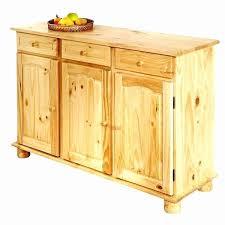 meuble cuisine en pin buffet cuisine pin massif meuble cuisine en bois massif