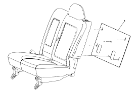 repair instructions rear seat back cushion panel replacement