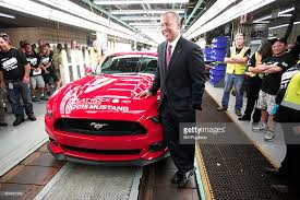 michigan mustang ford makes announcement at michigan mustang assembly plant photos