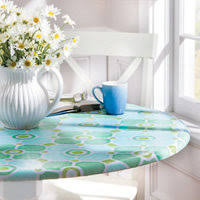 Patio Tablecloth Round Vinyl Table Covers Improvements Catalog