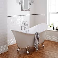 luxurious style with freestanding baths big bathroom shop milano contemporary double ended freestanding bath with choice of feet