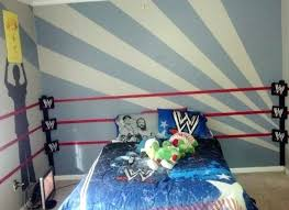 wwe bedroom wwe bedroom decor best wrestling ring bed ideas on sports themed