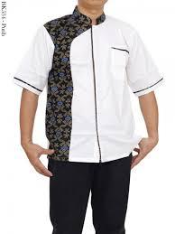 baju koko grosir baju koko lengan pendek kombinasi batik terbaru