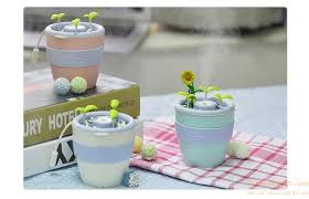 humidificateur de bureau anion empotage usb plante mini humidificateur d air aromathérapie