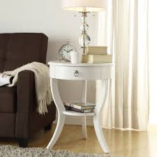 White Accent Table by Oxford Creek Hastings White Accent Table Light Finish Home
