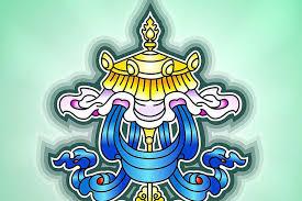 Buddhist Treasure Vase About The Eight Auspicious Symbols Of Buddhism