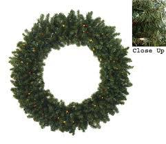 60 pre lit commercial canadian pine artificial