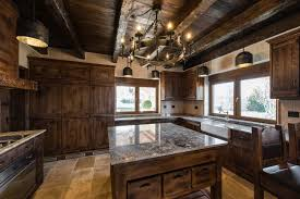 black kitchen cabinets in log cabin 30 classic cabin kitchen ideas design pictures