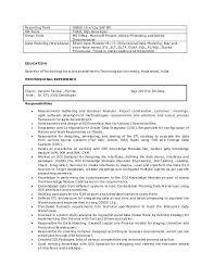 etl developer resume sql developer resume